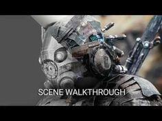 Making of Sci-Fi Armor in Blender - Computer Graphics & Digital Art…