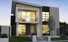 Belle #maison #moderne #construction #architecte http://www.m-habitat.fr/plans-types-de-maisons/architecte-et-constructeur/les-honoraires-d-un-architecte-3424_A