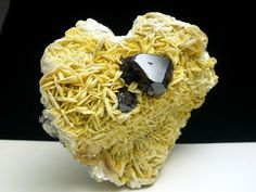 Transparent Cassiterite Crystal Cluster On Muscovite from China