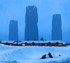 Paintings by Simon Stalenhag
