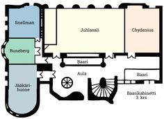 Tilat Ostrobotnian Juhlakerroksen vuokrattavat tilat sijaitsevat Ostrobotnia-talon toisessa ja kolmannessa kerroksessa.Ne käsittävät neljä arvokasta kabinettia ja juhlasalin sekä monikäyttötilan kolmannessa kerroksessa.Juhlakerroksen tiloissa on esillä Pohjalaisen Gallerian merkittävä muotokuvakokoelma