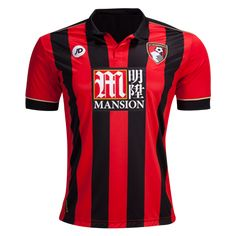 AFC Bournemouth 16/17 Home Soccer Jersey -Check out the latest British Premier League Soccer Jerseys and your favourite clubs apparel for 2016/17 at WorldSoccershop.com