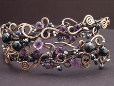Violet Upper Arm Band | by MaryTucker