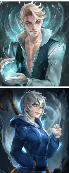 Frozen Animated Characters
