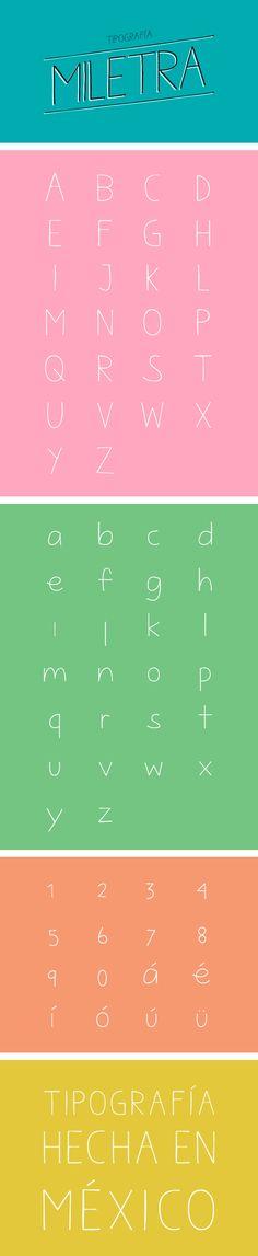 Miletra Free Font
