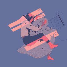Sleeping pattern #sketch #artistoninstagram #illustration #sleep