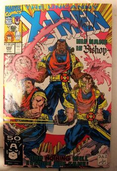 marvel the uncanny x men 282 1st app of Bishop signed by Whilce Portacio