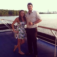 Another successful #datenight aboard #SpiritofPhilly! Hope you guys had a blast!  Thanks to Kraemer0709 for this lovely pic!
