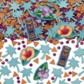 Tiki Island Printed Confetti - Party City