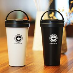 Aliexpress.com : Buy New Thermos Coffee Mugs 500ml Double Wall Stainless Steel Vacuum Flasks Travel Mugs Thermos Cup Coffee Tea Thermal Water Bottle from Reliable steel vacuum flask suppliers on 9 Spring Lifestyle Store