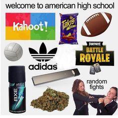 Memes school kahoot ideas for 2019 Funny Jokes, Hilarious, Funny Laugh, Aesthetic Memes, Battle Royale, School Memes, Fresh Memes, Relationship Memes, I Can Relate