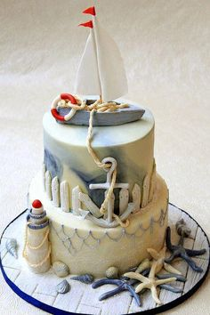 Anna Vasilyeva.  Beautiful cake