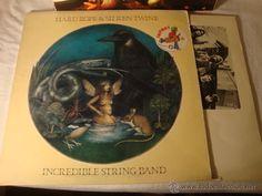 LP INCREDIBLE STRING BAND - HARD ROPE & SILKEN TWINE ENCARTES+CARPETA ABIERTA VG+ DISCO RAYA