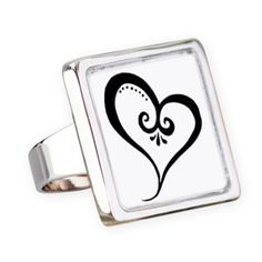 💍 All Heart square ring