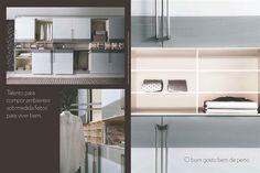 Cozinha, mais uma maneira de projetar.