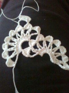 y patrones de borde Crochet Cord, Crochet Lace Edging, Crochet Needles, Crochet Borders, Filet Crochet, Crochet Shawl, Crochet Doilies, Crochet Stitches, Crochet Patterns