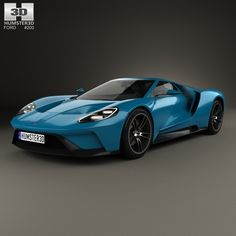 Ford Gt  D Model From Humsterd Com Price