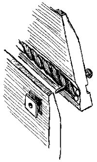 An example of roving. You can also make out the complex cross-section of the Strake