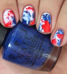 of July Nails! The Very Best Red, White and Blue Nails to Inspire You This Holiday! Fourth of July Nails and Patriotic Nails for your Fingers and Toes! Nails Opi, Diy Nails, Polish Nails, Nail Polishes, Stiletto Nails, Patriotic Nails, Summer Acrylic Nails, Spring Nails, Fall Nails
