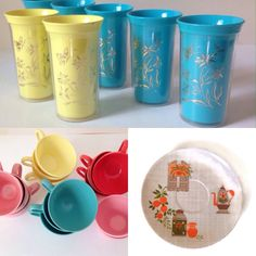 Vintage kitchen..insulted tumblers, melmac and melamine on Etsy