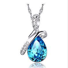 Turquoise Cristal Colliers Pendentifs Et Jewerly 2016 Collier Femmes Pas Cher Mode ebay Bijoux En Gros