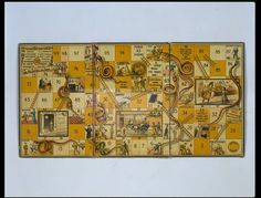Board game - Snakes and Ladders - Victoria & Albert Museum