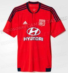 Cheap Olympique Lyonnais Away Replica Jersey RED 29b3201660fd7