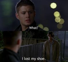 Jensen Ackles Smoking | Jensen Ackles I lost my shoe