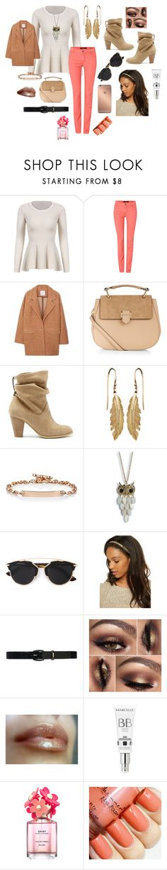 """""""Shopping Outfit"""" by sophie-dye ❤ liked on Polyvore featuring Oui, MANGO, Accessorize, Sole Society, Hoorsenbuhs, Aéropostale, Christian Dior, Mura, Lauren Ralph Lauren and Marc Jacobs"""