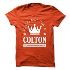 Kiss Me I Am COLTON Queen Day 2015 - #hoodies #sweater. SIMILAR ITEMS => https://www.sunfrog.com/Names/Kiss-Me-I-Am-COLTON-Queen-Day-2015-vhguskpvkk.html?68278