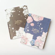 "Nuppu Print Company Small Notebook ""Sydäntalvi"""