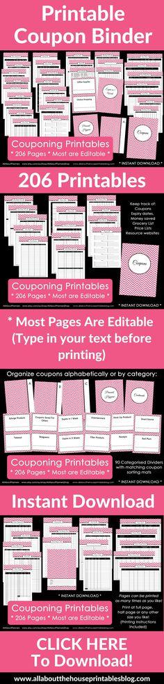Free printable coupon binder cover template Download the cover in - coupon template download