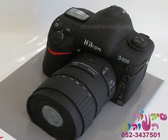 camera cake by cakes-mania close up עוגת מצלמה מאת שיגעון העוגות by cakes-mania, via Flickr