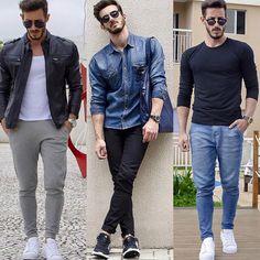 men style fashion clotes ropa moda para hombres #moda #menstyle