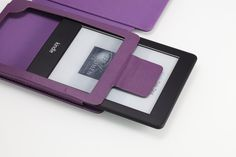 """Amazon.com: MoKo Cover Case for Amazon All-New Kindle Paperwhite (Both 2012 and 2013 versions with 6"""" Display and Built-in Light), PURPLE (With Smart Auto Sleep/Wake feature): Electronics"""