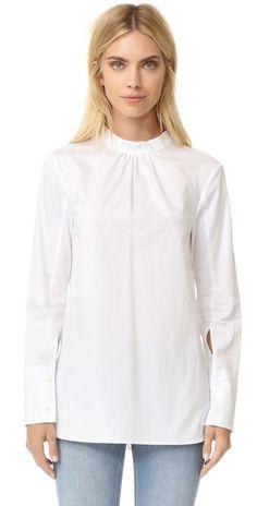 Tibi Backwards Shirt | SHOPBOP