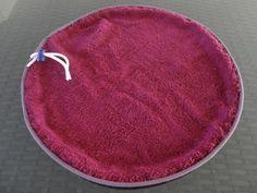 tapis de piscine pieds aux sec et sac