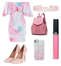 """""""🌴 Formal summer 🌴"""" by reginaest on Polyvore featuring moda, Armani Beauty, Casetify, Humble Chic, Topshop y fabulous"""