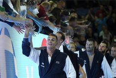 Elöl Decker Attila a férfi vízilabdatorna elődöntőjében játszott Görögország - Magyarország mérkőzés végén. | MTI Fotó: Czagány Balázs - PROAKTIVdirekt Életmód magazin és hírek - proaktivdirekt.com