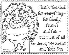 religious thanksgiving quote coloring sheet
