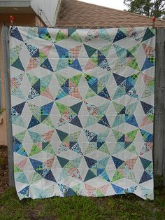 Kaleidoscope QAL quilt - Don't Call Me Betsy - All QAL steps