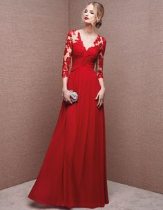 Original dress, with sweetheart neckline