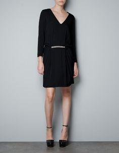 BAT WING DRESS - Dresses - Woman - ZARA United States