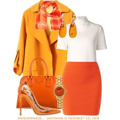"""""""""""CANDY CORN COLORS"""" CONTEST: #3"""" by enjoyzworld on Polyvore"""