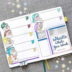 A weekly spread is a part of your journal where you do your day to day planning. Learn what weekly spread is, what to include there, and get inspired by 65 amazing weekly spreads. #mashaplans #bulletjournal #weeklyspread #weeklylog #bujoweekly Bullet Journal Disney, Bullet Journal For Kids, Planner Bullet Journal, Bullet Journal 2020, Bullet Journal Printables, Bullet Journal Notebook, Bullet Journal Ideas Pages, Bullet Journal Spread, Bullet Journal Inspo