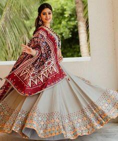 Navratri Chaniya Choli Special designer lehenga Choli With Printed Dupatta garba dress lehenga choli Full flair dandiya outfit chaniya choli
