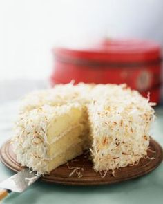 German White Chocolate Cake - http://we-prepare.com/german-white-chocolate-cake/
