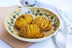 Parsley, Chili, Garlic, And Lemon Hasselback Potatoes