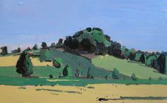 10 Saved Acres, September 2, Original Plein Air Painting on Panel, Stooshinoff