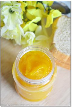 Homemade Mango Jam Recipe: 1 1/2 cup mango, 1/4 cup sugar, 1Tb lemon juice